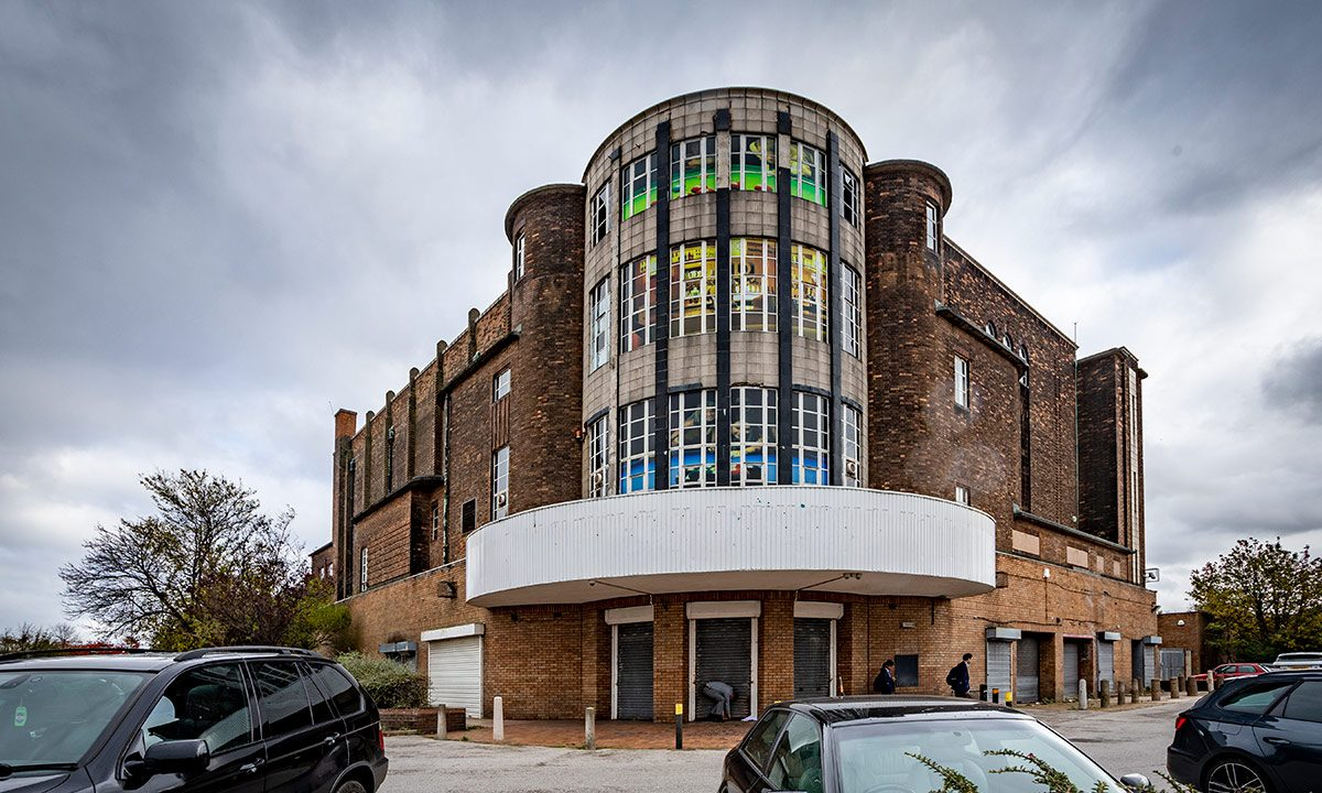 The former Abbey Cinema exterior