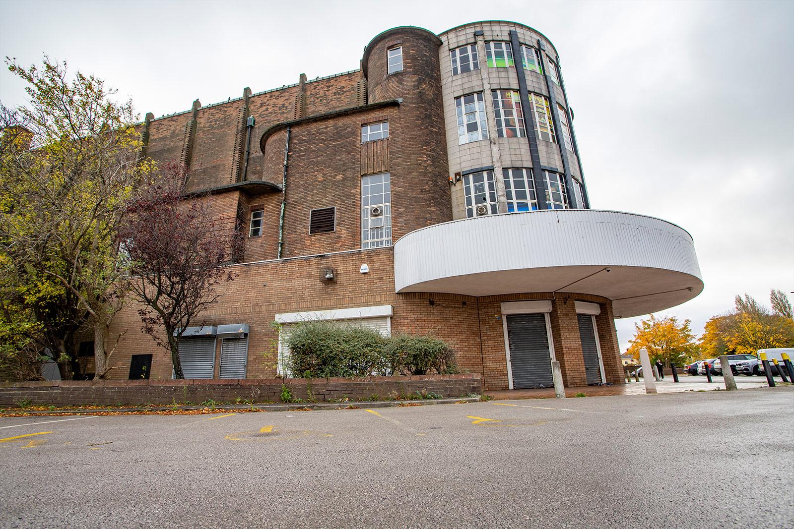 The former Abbey Cinema approach